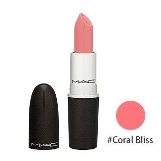 マック(M・A・C(MAC)) リップスティック #Coral Bliss(コーラルピンク)[クリームシーン] 3g [海外直送品] [並行輸入品]