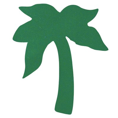 Palm Tree Tanning Stickers 1000 Ct Roll - 1
