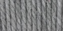 Bernat Softee Chunky Yarn, Grey Heather, Single Ball