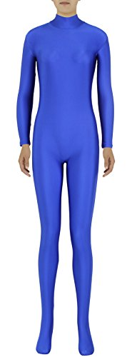 JustinCostume Adults Spandex High Neck Full Covered Unitard Halloween Costume