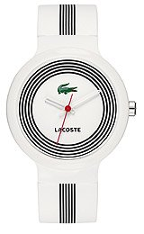 Lacoste Sportswear Collection Goa White Dial Unisex watch #2010570