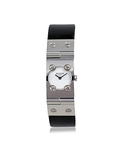 Rochas of Paris Women's RH9052LWWB Black/White Stainless Steel Watch As You See