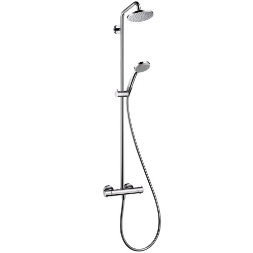 Hansgrohe 27169001 Chroma Green Showerpipe, Chrome (Hansgrohe Shower compare prices)