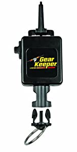 Buy Gear Keeper RT3-0013 Locking Scuba Console Retractor Snap Clip Mount with Q C II Split Ring Accessory by Gear Keeper