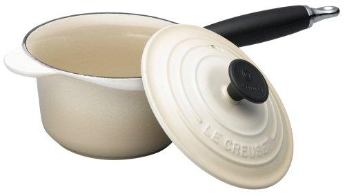 Le Creuset Cast Iron Saucepan, Almond, 16 cm