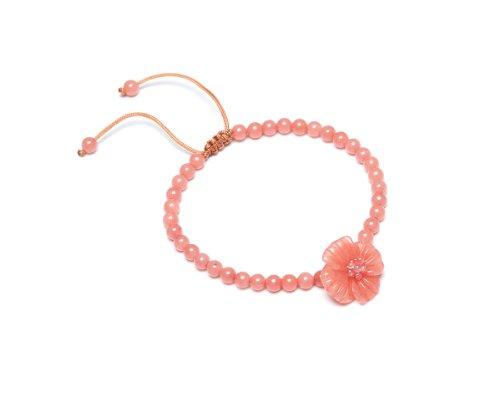 Lola Rose 'Claudette' Pink Coral Quartzite Bracelet