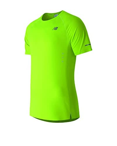 New Balance Camiseta Manga Corta MT61218 Verde