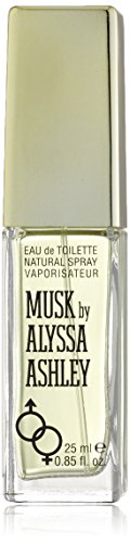 Alyssa Ashley Musk, Eau de Toilette spray da donna, 25 ml