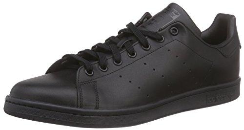 adidas Stan Smith, Scarpe Basse Unisex Adulto, Nero (Black/Black/Black), 48 2/3