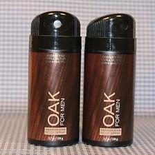 Bath and Body Works Signature Collection (2) Oak for Men Deodorizing Body Sprays-3.7 oz.