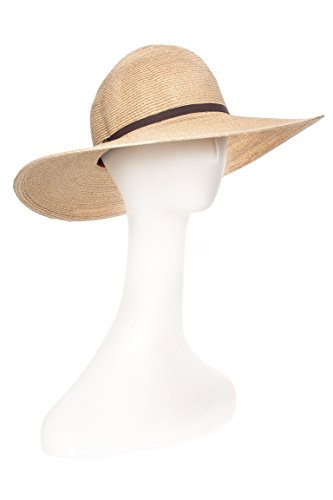 Mrs. Davis Straw Floppy Hat