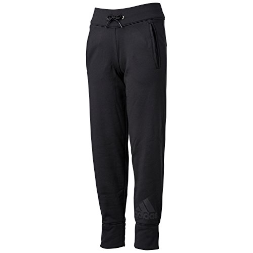 (アディダス)adidas GIRLS CLIMAWARM パンツ AAU74 AB4799 ブラック J130