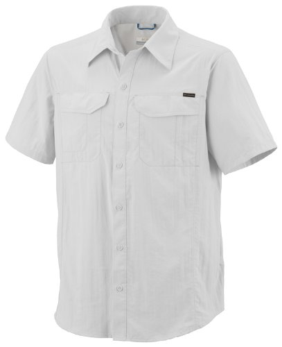 Columbia-Herren-Hemd-Silver-Ridge-Short-Sleeve-Shirt-White-S-AM7474-100-S