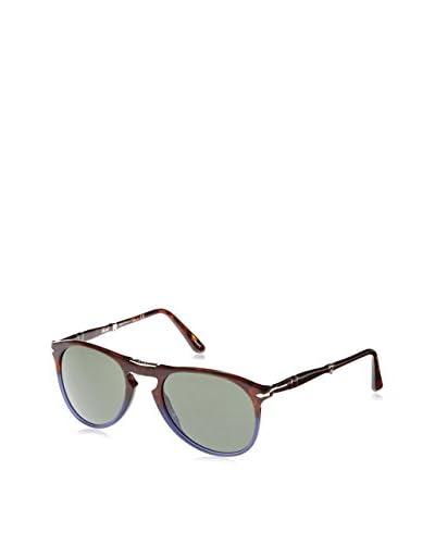 Persol Gafas de Sol 9714S 102231 (55 mm) Tabaco / Azul
