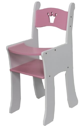 Mommy & Me Wooden Doll High Chair- Fits American Girl 18'' Doll front-948886