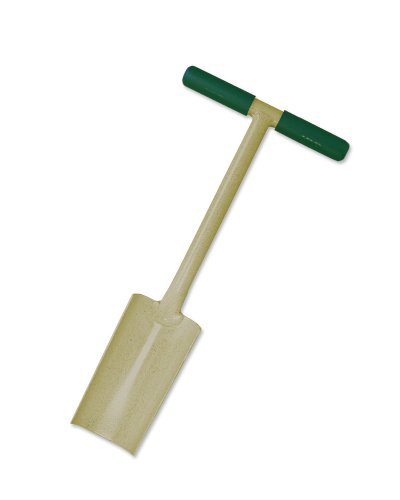 Bully Tools 92505-L All Steel Tulip Spade with 6-Inch Curved Blade