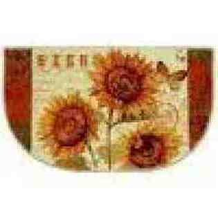 Sunshine Seeds Multi 18-Inch By 30-Inch Slice Accent Rug front-604125