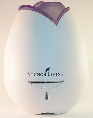 Young Living Rose-shaped Home Diffuser (purple)