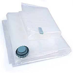 6 Pack Wholesale Space Saver Vacuum Seal Storage Bags - 1 Xlarge, 2 Large, 2 Med Combo and... by Boli Space Bag