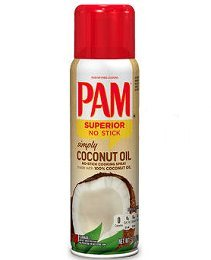Pam Simply Coconut Oil No-Stick Cooking Spray 5oz Can (Pack of 6) (Pam Spray Oil compare prices)