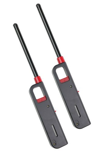 Buy Bargain Refillable Lighter for Kitchen Camping Grilling BBQ Home Adjustable Flame 2 Pack By GD S...