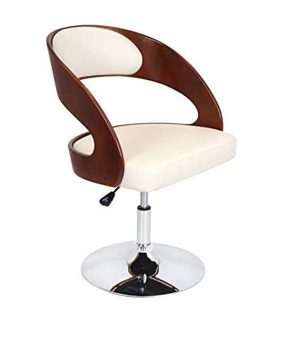 Lumisource Pino Chair, Cream/Cherry