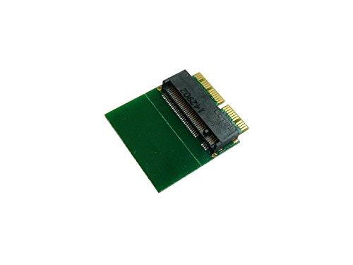 Kalea-Informatique-Adattatore M2tipo PCIe (B + M o M Key) verso MacBook 2013e più con SSD in 12+ 16punti-per montare un SSD M2in posto e del SSD di origine in 12+ 16pin su un Mac