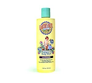 Jason, Earth's Best Baby Shampoo and Body Wash Lavender 16 oz
