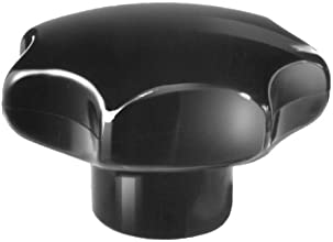 Star knob similar to DIN6336 made of plastic type K diameter 63mm