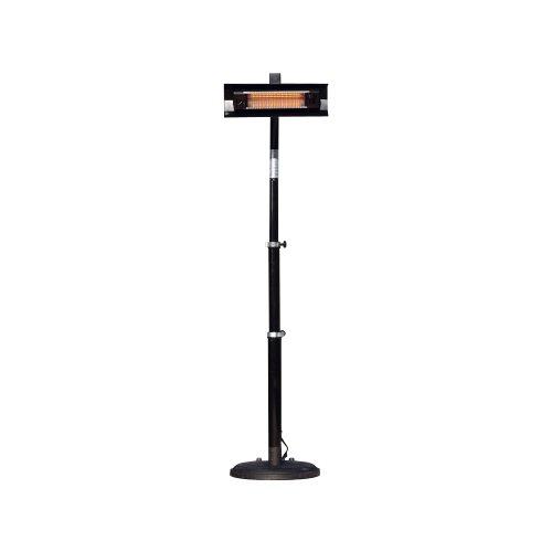 Fire Sense Telescoping Infrared Indoor/Outdoor Patio Heater, Black (Propane Infrared Heater Indoor compare prices)