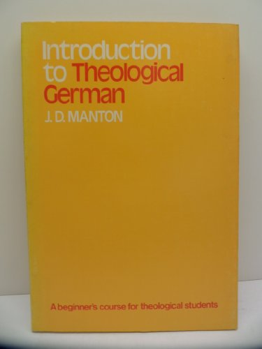 Introduction to Theological German