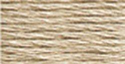 DMC Pearl Cotton Skeins Size 5 27.3 Yards Very Light Beige Brown 115 5-842; 12 Items/Order