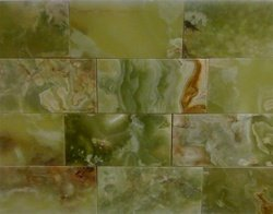 3 x 6 Dark Green Onyx Polished Tiles
