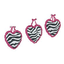 31bYGMq9qaL Funky Zebra Wall Hanging Accessories by JoJo Designs Critiques
