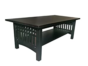 American Furniture Alliance Bridgeport Coffee Table, Espresso