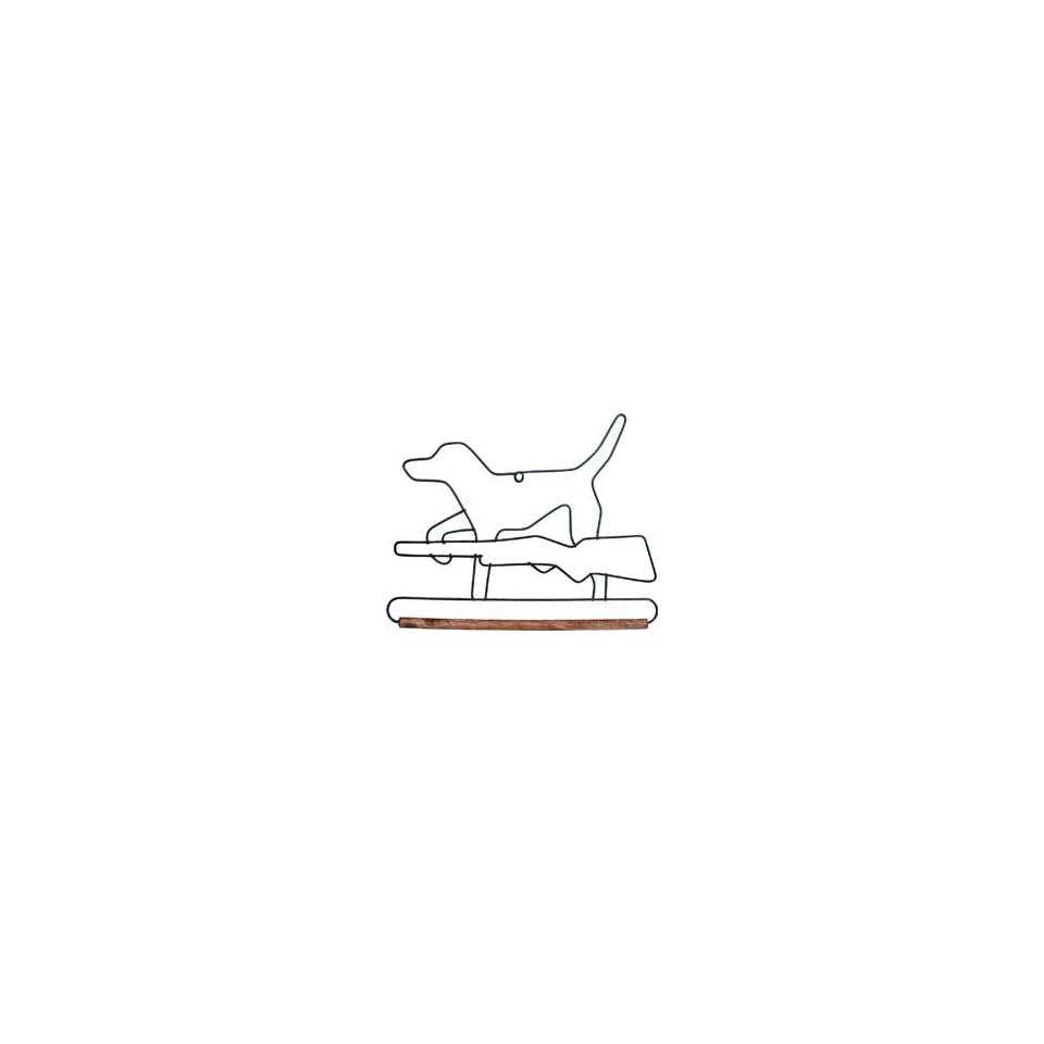 Ackfeld Fabric Holder With 6 Dowel Hunting Dog 86637, 2 Items/Order