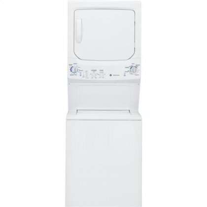 Ge Gtun275Emww Spacemaker 9.3 Cu. Ft. White Electric Washer/Dryer Combo - Energy Star
