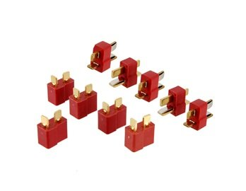 Leegoal 5 Pairs Li-po Battery Deans T-plug Connector Pack + Worldwide free shiping - 1