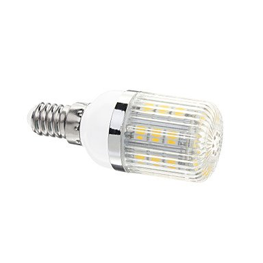 Rayshop - E14 4W 30X5050Smd 400Lm 3000-3502K Warm White Light Led Corn Bulb(Ac 220-240V)