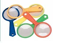 144 Pack Colorful Magnifying Glasses, Party Favors, Gross Wholesale by BN