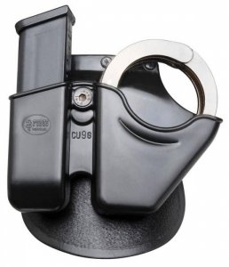 Concealed Carry Light Fobus Pouches Ruger Handcuff Magazine Combo Paddle Double 9mm Tactical Hard Polymer