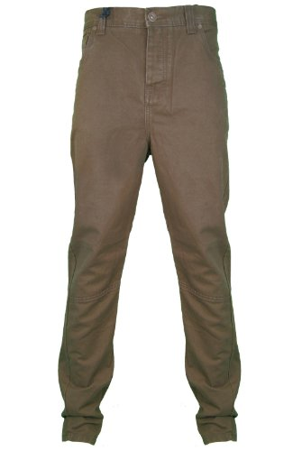 New Mens CrossHatch Taupe Twisted Fit Twill Jeans. Style - Riccord. Waist Size - 30
