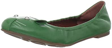 Marc by Marc Jacobs Women's Ballerina Flat,Green,35.5 EU/5.5 M US