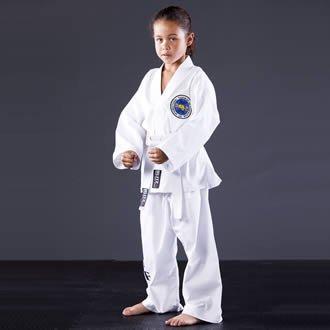 Blitz Sport Kids ITF Taekwondo Suit 1/140cm White