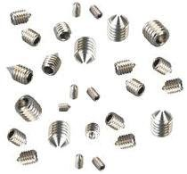 Grub Screws Metric Thread (Mixed 40 PACK) A2 Stainless Steel Cone Point 10 X M3,M4,M5 & M6 x 8mm Socket Allen Key Grub Screw Free UK Delivery