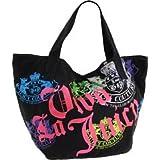 Juicy Couture YHRU1709 Gen Y Viva La Juicy Tote,Black Multi,one size