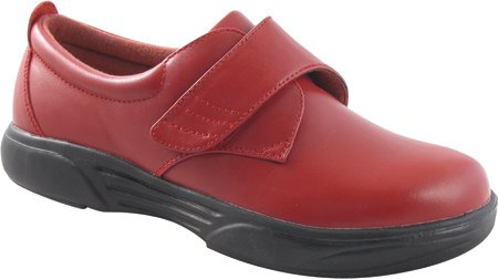 Orthotic Shoes,ruby Red,9