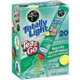 4C Iced Tea Stix Totally Light Tea 2Go Decaffeinated Lemon (2 Pack)