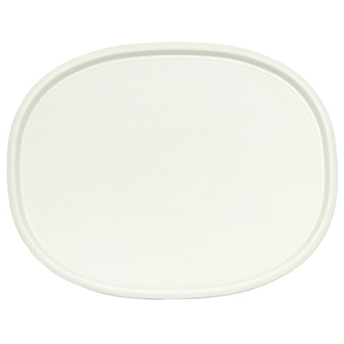 Corningware F-2-PC Oval French White 2.5-qt or 1.5-qt Lid