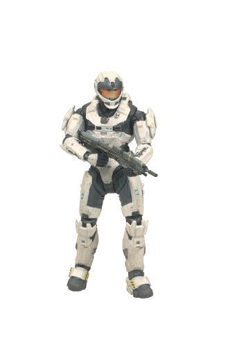McFarlane Toys Halo Reach Series 2 - Spartan CQC Custom (Male) Action Figure White/White (Halo Reach Spartan Action Figures compare prices)